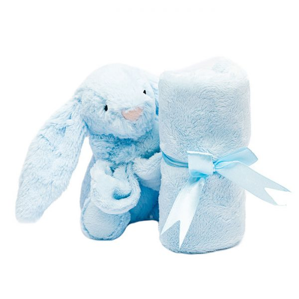 Chapter One Bashful Blue Bunny Soother Baby Gifts