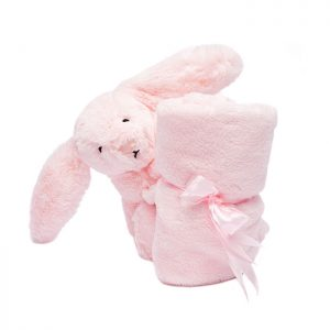 Chapter One Bashful Pink Bunny Soother Baby Gift