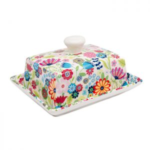 Chapter One Ditsy Butter Dish