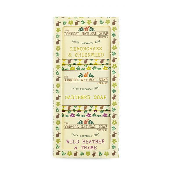 Chapter One Donegal Natural Three Piece Soap Set