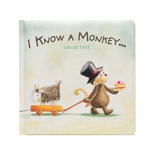 """Chapter One """"I Know A Monkey"""" By Louise Tate. Children's Book."""