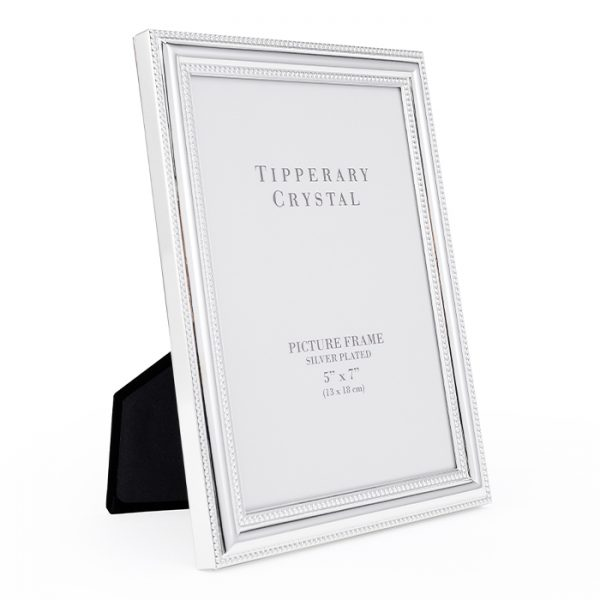 Chapter One Tipperary Crystal Beaded Edge 5x7 Photo Frame
