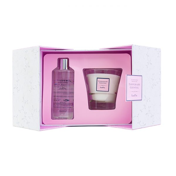Chapter One Tipperary Crystal Scented Candle And Bath Oil Set