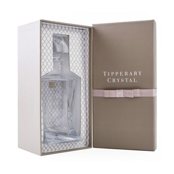 Chapter One Tipperary Crystal Twist Decanter