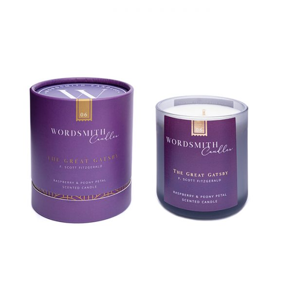 Chapter One Wordsmith The Great Gatsby Raspberry & Peony Petal Candle