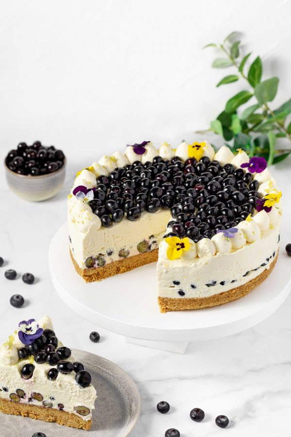 Chapter One Blueberry And lemon Cheesecake Two