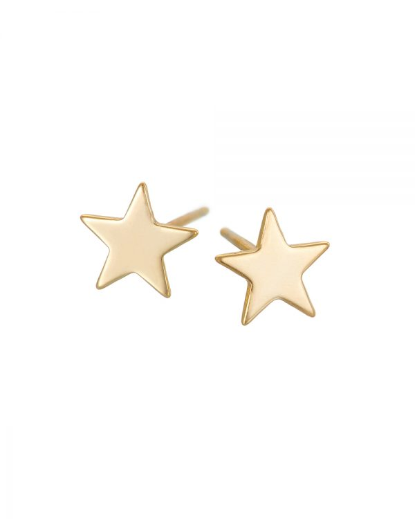 Chapter One Gold Star Earrings
