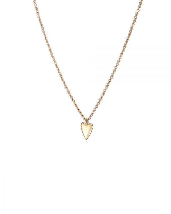 Chapter One Gold Heart Necklace