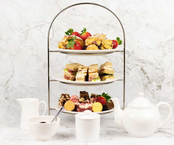 Chapter One Afternoon Tea Display