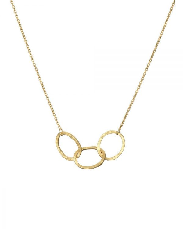 Chapter One Three Oval Link Necklace