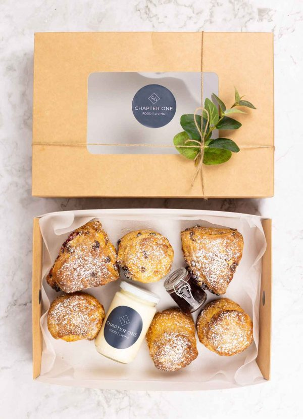 Chapter One 6 Boxed Scones