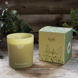 Chapter One Herb Dublin Daisies & Freshly Cut Grass Candle