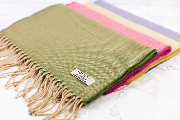 Chapter One Foxford Extra Fine Merino Scarf