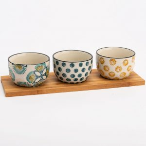 Chapter One imany Three Dipping Bowl Set