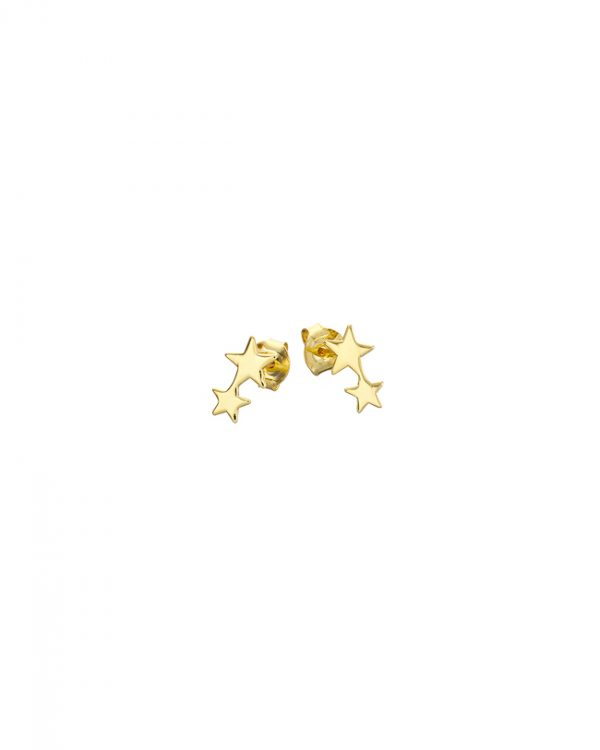 Chapter One Gold Two Star Studs