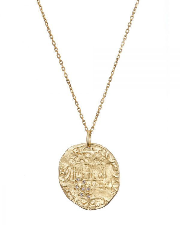 Chapter One Gold Coin Necklace