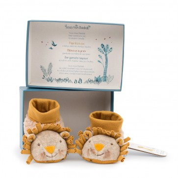 Chapter One Children Lion Slippers