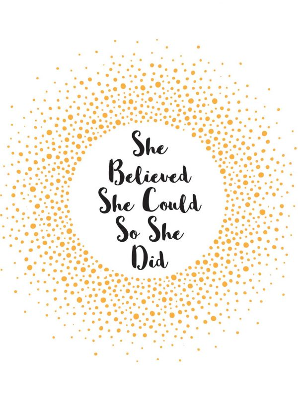 Chapter One She Believed Quote