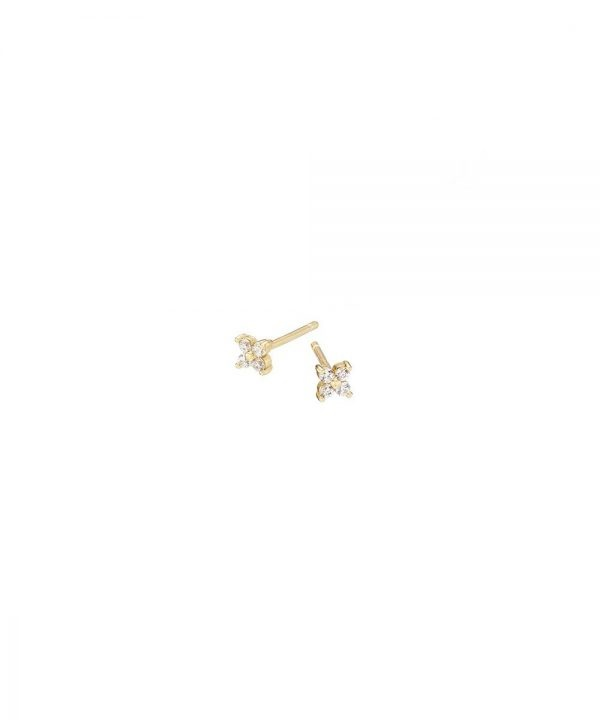 Chapter One Cavan Mary K Pave Flower Studs