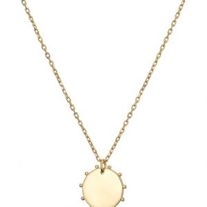 Chapter One Cavan Mary K Gold Mini Disc Necklace