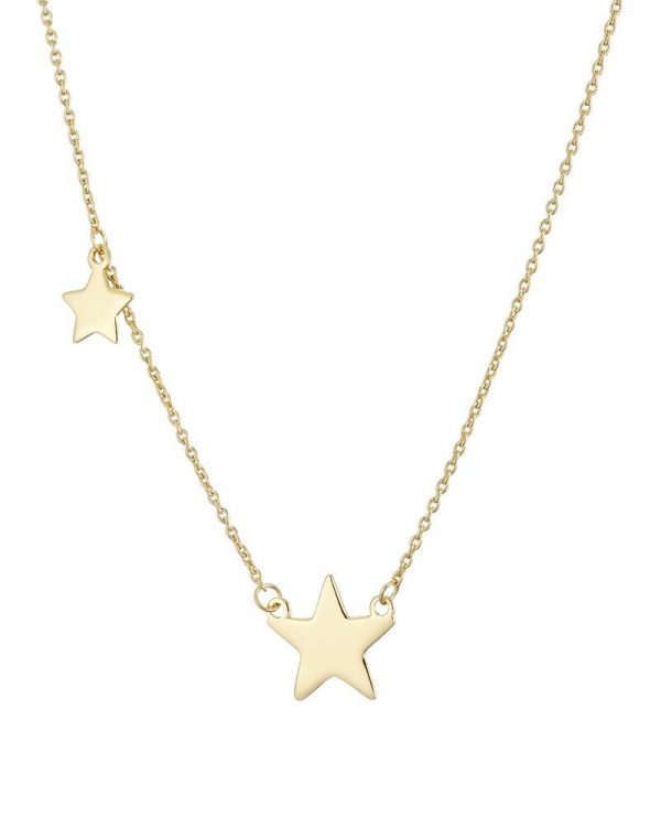 Chapter One Cavan Mary K Gold Double Star Necklace