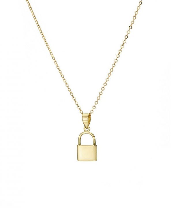 Chapter One Cavan Mary K Gold Padlock Necklace