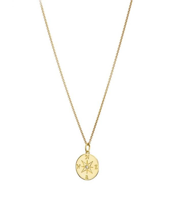 Chapter One Cavan Mary K Gold Compass Necklace